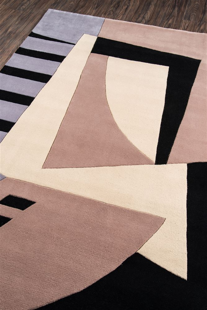 Contemporary NEWWANW-22 Area Rug - New Wave Collection