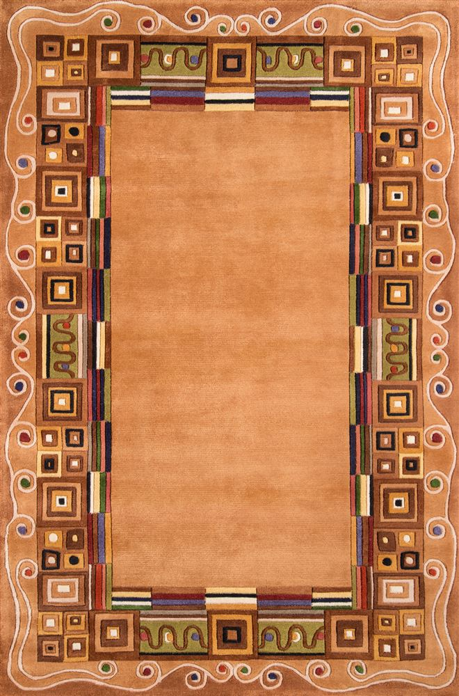 Contemporary Newwanw-34 Area Rug - New Wave Collection