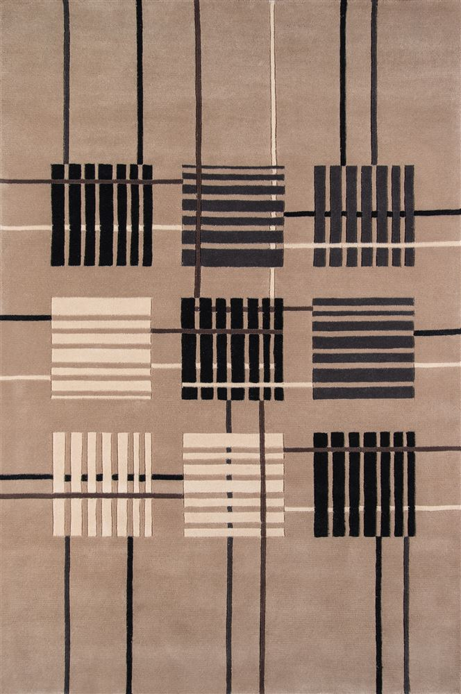Contemporary Newwanw-48 Area Rug - New Wave Collection
