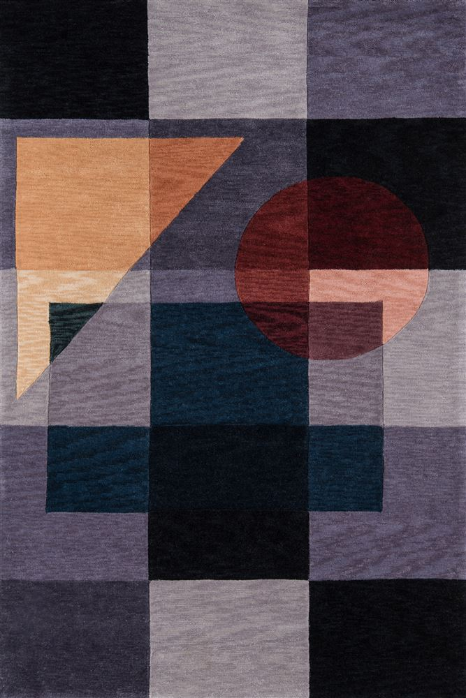 Contemporary Newwanw-54 Area Rug - New Wave Collection