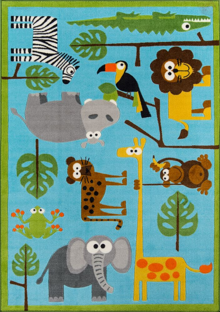 Contemporary Playtpla10 Area Rug - Mini Mo Collection
