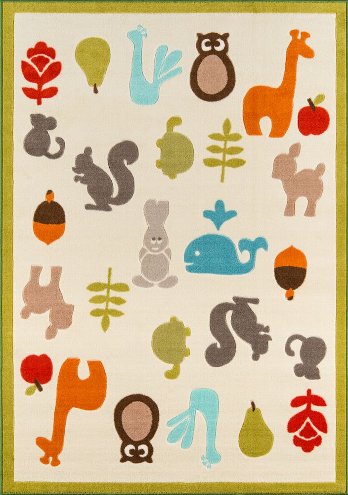 Contemporary Playtpla-1 Area Rug - Mini Mo Collection