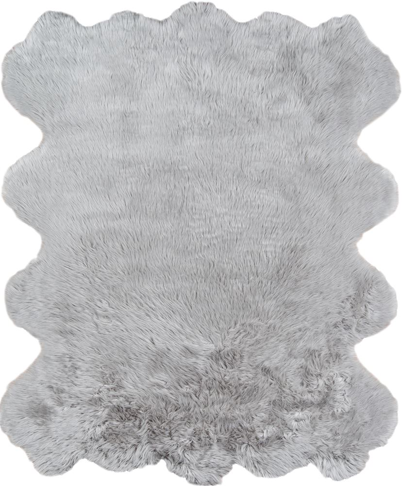 Modern Sablesbl-1 Area Rug - Sable Faux Fur Collection