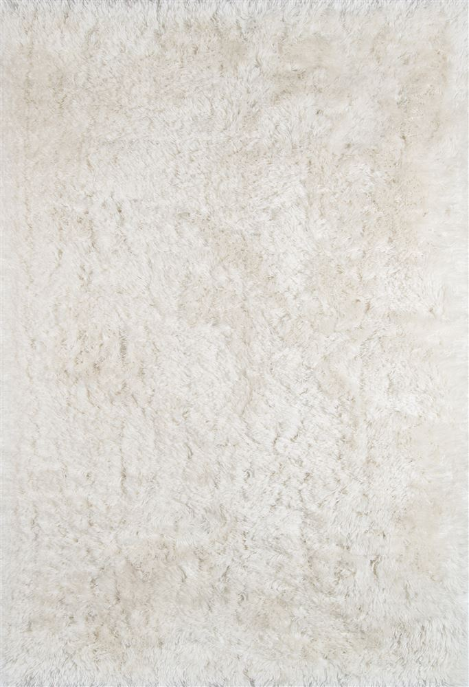 Contemporary Sshagss-01 Area Rug - Snow Shag Collection